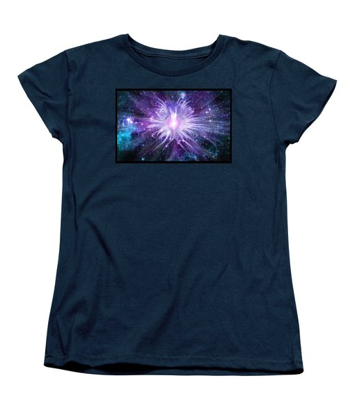 Cosmic Heart Of The Universe Women's T-Shirt (Standard Cut) by Shawn Dall