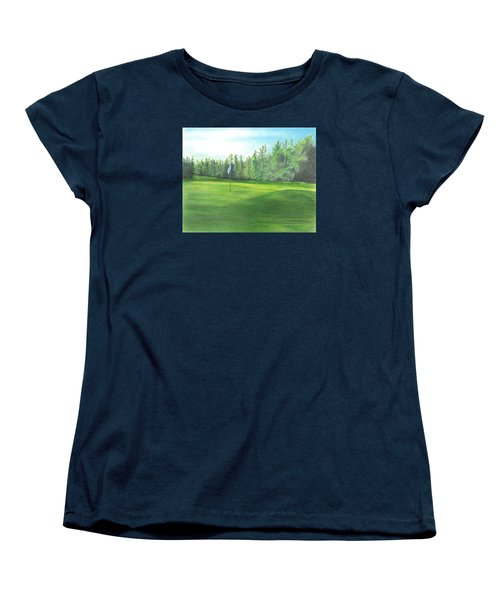 Country Club Women's T-Shirt (Standard Cut) by Troy Levesque