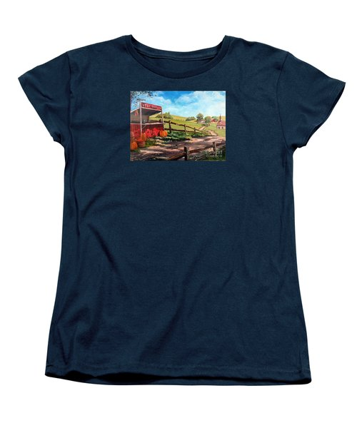 Country Life Women's T-Shirt (Standard Cut) by Lee Piper