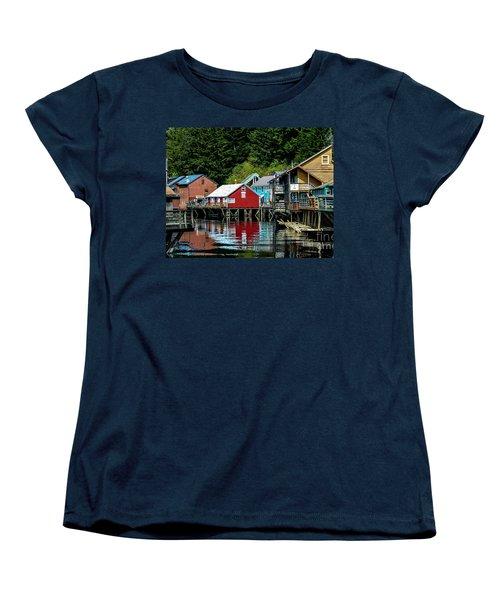 Creek Street - Ketchikan Alaska Women's T-Shirt (Standard Cut)