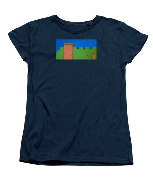 Crenellated Roof Women's T-Shirt (Standard Cut)