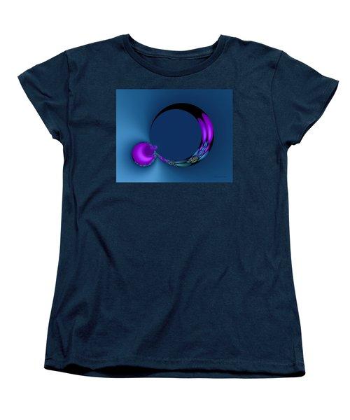 Crescent Moons Women's T-Shirt (Standard Cut) by Judi Suni Hall