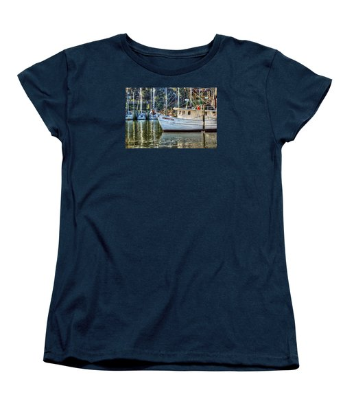 Crimson Tide In The Sunshine Women's T-Shirt (Standard Cut) by Michael Thomas