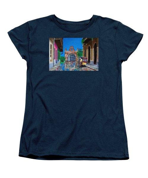 Capilla De Cristo - Old San Juan Women's T-Shirt (Standard Cut) by The Art of Alice Terrill