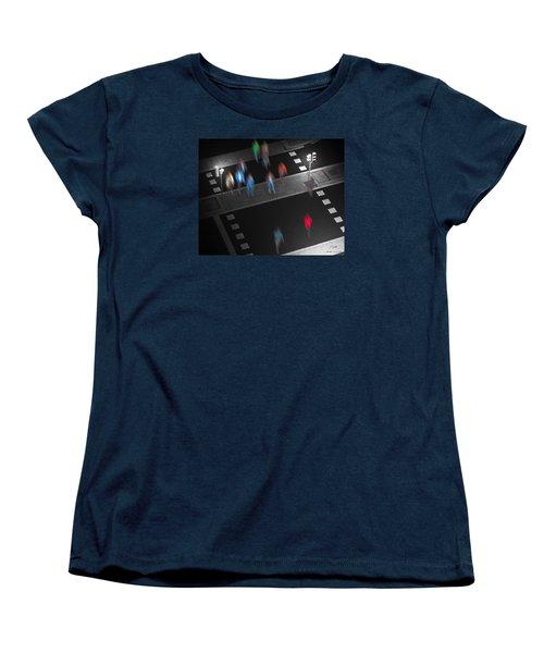 Crosswalk Women's T-Shirt (Standard Cut) by Pedro L Gili
