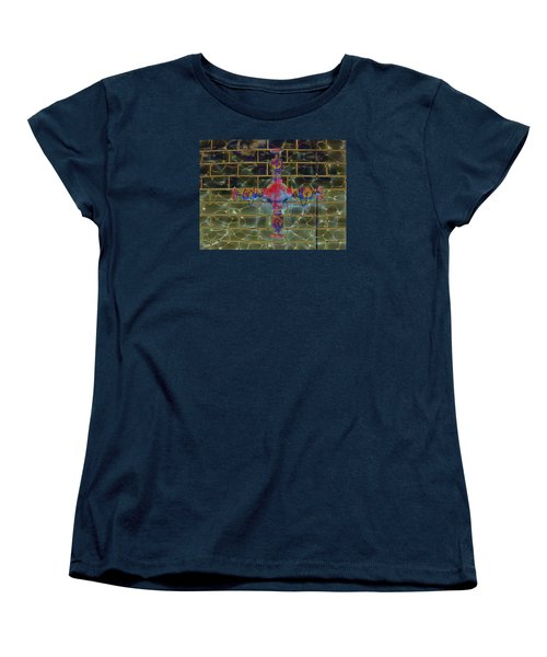 Women's T-Shirt (Standard Cut) featuring the photograph Cruciform The Second by MJ Olsen