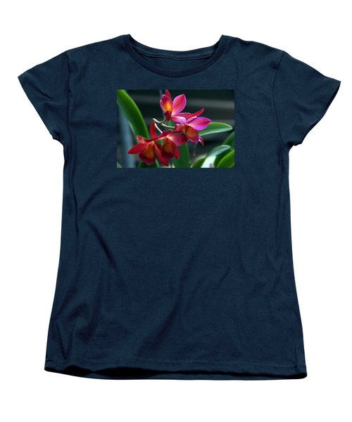 Women's T-Shirt (Standard Cut) featuring the photograph Ctna New River Orchid by Greg Allore