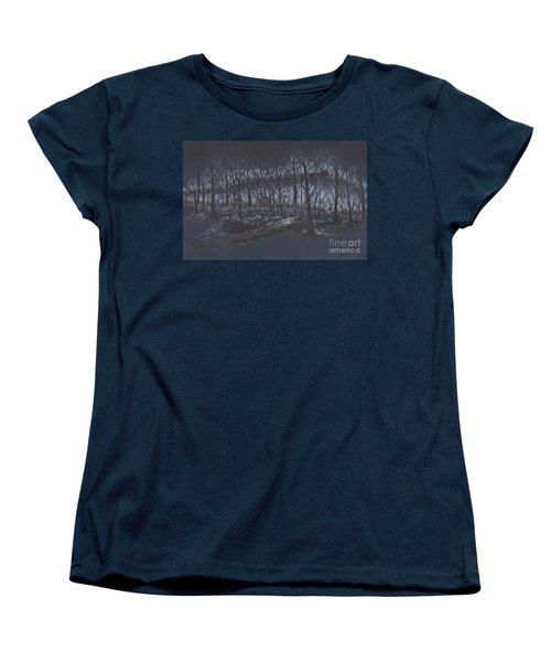 Culp's Hill Assault Women's T-Shirt (Standard Cut) by Scott and Dixie Wiley
