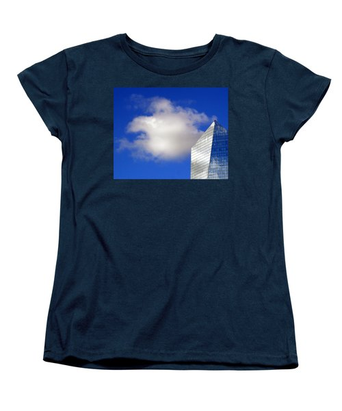 Women's T-Shirt (Standard Cut) featuring the photograph Cumulus And Cira by Lisa Phillips