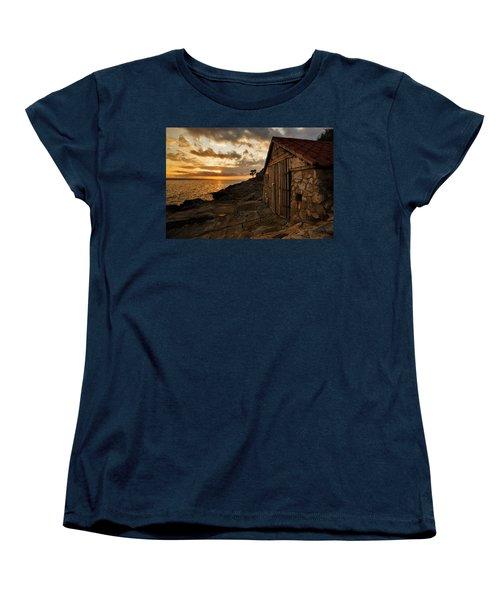 Cunski Beach At Sunrise Women's T-Shirt (Standard Cut)