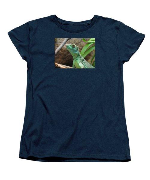 Women's T-Shirt (Standard Cut) featuring the photograph Curious Gaze by Lingfai Leung