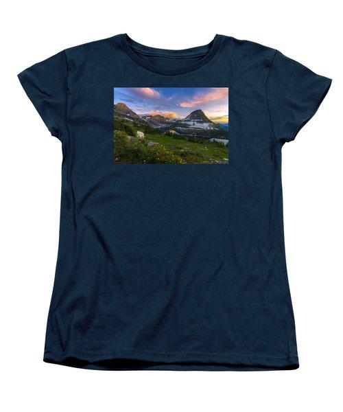 Curious Goat Women's T-Shirt (Standard Cut) by Dustin  LeFevre