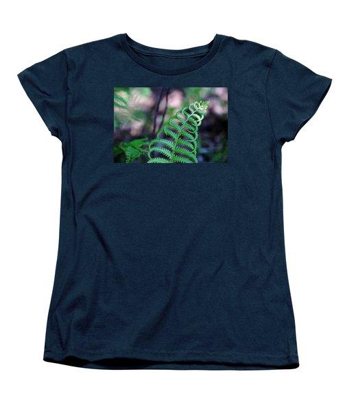 Women's T-Shirt (Standard Cut) featuring the photograph Curls by Debbie Oppermann
