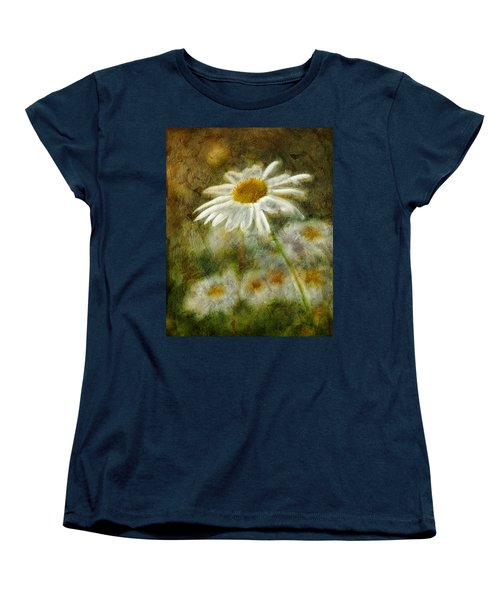 Daisies ... Again - P11at01 Women's T-Shirt (Standard Cut) by Variance Collections