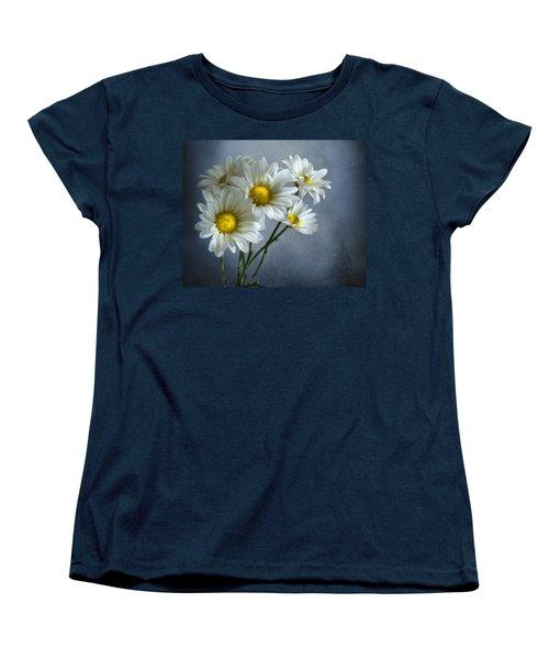 Daisy Bouquet Women's T-Shirt (Standard Cut) by Ann Lauwers
