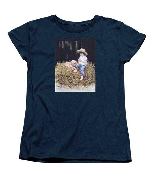 Daisy Women's T-Shirt (Standard Cut) by Nancy Cupp