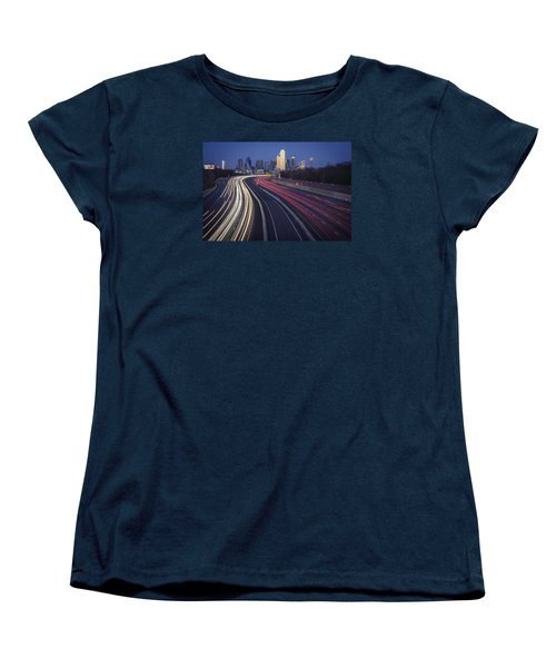 Dallas Afterglow Women's T-Shirt (Standard Cut) by Rick Berk
