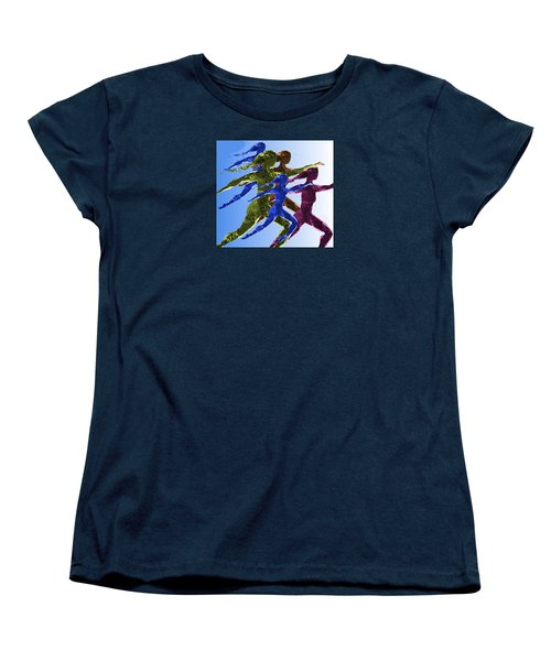Dancers Women's T-Shirt (Standard Cut) by Mary Armstrong