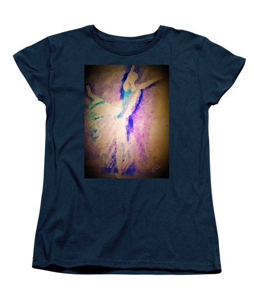 Dancing Donna Women's T-Shirt (Standard Cut) by Renee Michelle Wenker