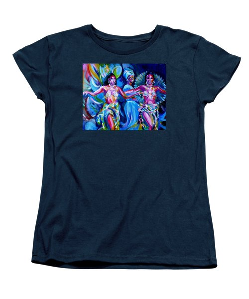 Dancing Panama Women's T-Shirt (Standard Cut) by Anna  Duyunova
