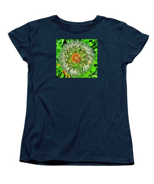 Women's T-Shirt (Standard Cut) featuring the photograph Dandelion Circle by John King