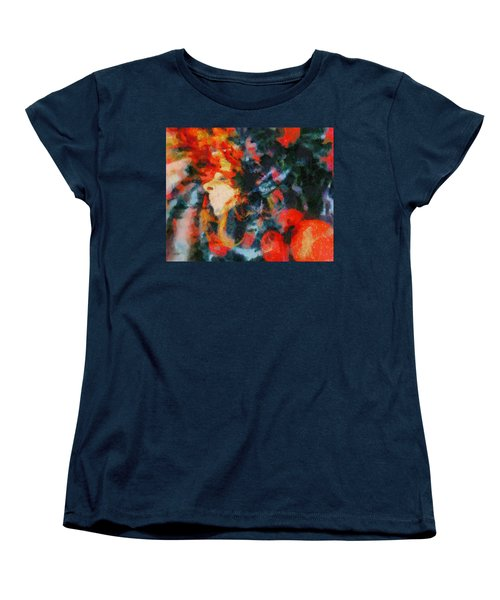 Women's T-Shirt (Standard Cut) featuring the painting Dangerous Passion by Joe Misrasi