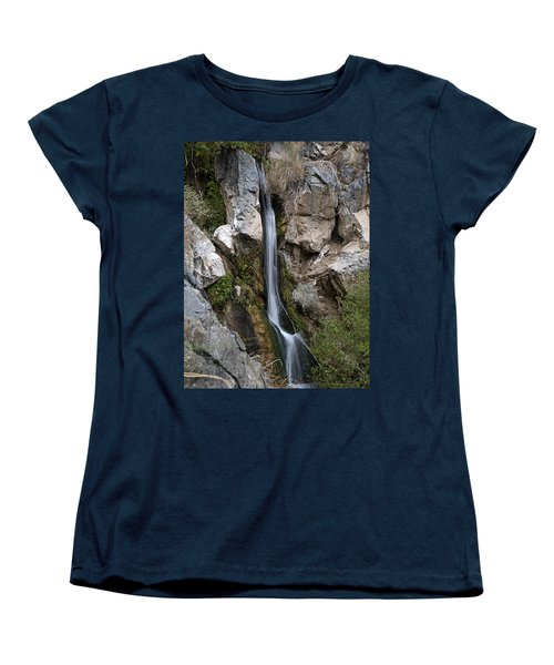Women's T-Shirt (Standard Cut) featuring the photograph Darwin Falls by Joe Schofield