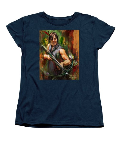 Daryl Dixon Walker Killer Women's T-Shirt (Standard Cut)