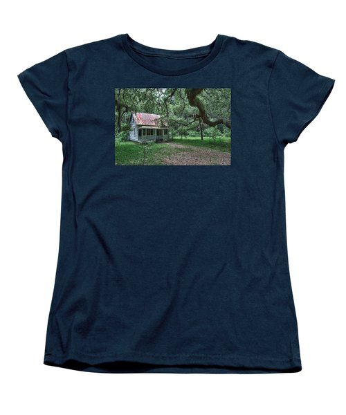 Daufuskie Homestead Women's T-Shirt (Standard Cut) by Renee Sullivan