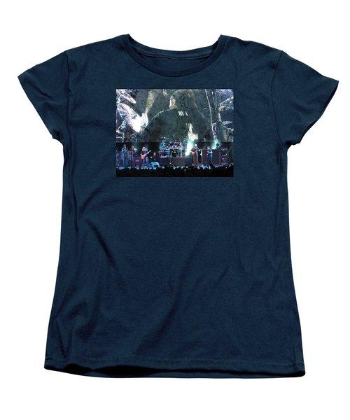 Dave Matthews Band Rocks Final Four Weekend Women's T-Shirt (Standard Cut) by Aaron Martens
