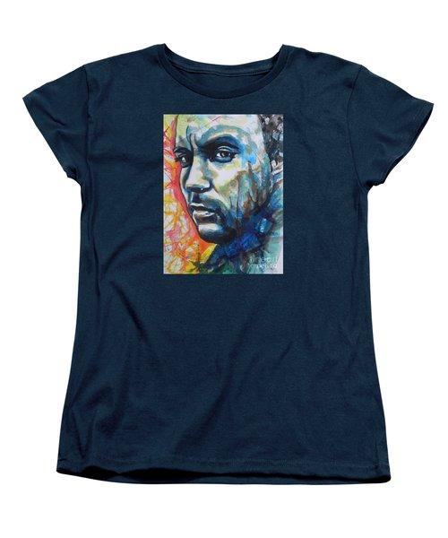 Dave Matthews Women's T-Shirt (Standard Cut) by Chrisann Ellis