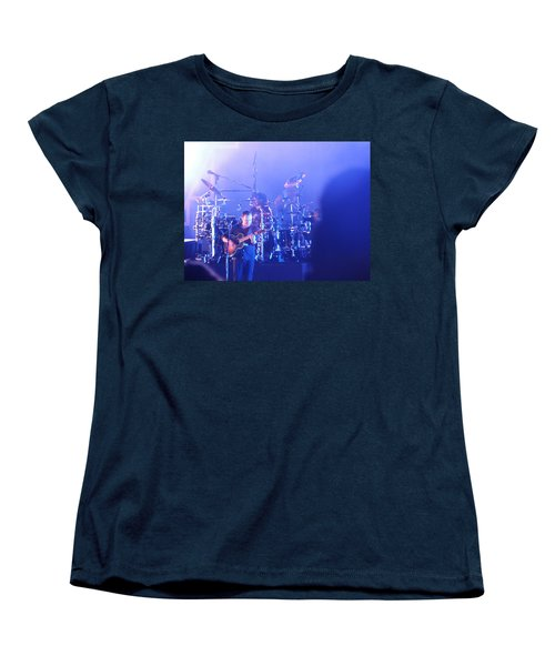 Women's T-Shirt (Standard Cut) featuring the photograph Dave Matthews Jamming In Tampa Flordia  by Aaron Martens