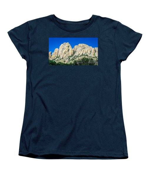 Davis Mountains Of S W Texas Women's T-Shirt (Standard Cut) by Debra Martz