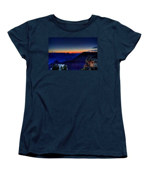 Dawn Is Breaking Women's T-Shirt (Standard Cut) by Dave Files