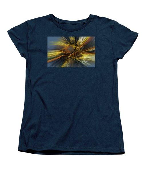 Women's T-Shirt (Standard Cut) featuring the digital art Dawn Of Enlightment by David Lane