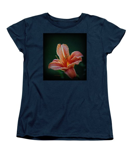 Day Lily Rapture Women's T-Shirt (Standard Cut) by Jeanette C Landstrom