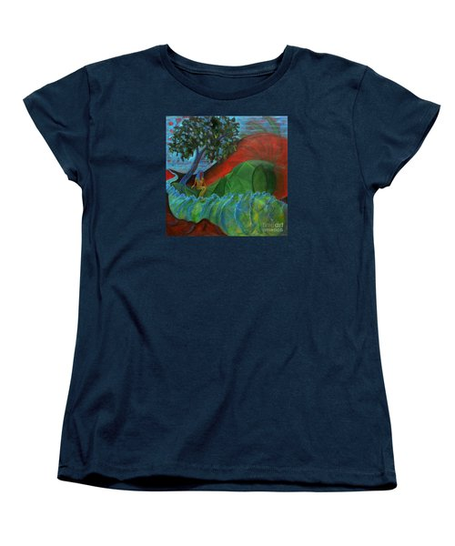 Uncertain Journey Women's T-Shirt (Standard Cut) by Elizabeth Fontaine-Barr