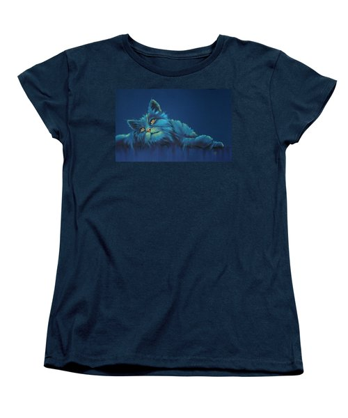 Women's T-Shirt (Standard Cut) featuring the drawing Daydreams by Cynthia House