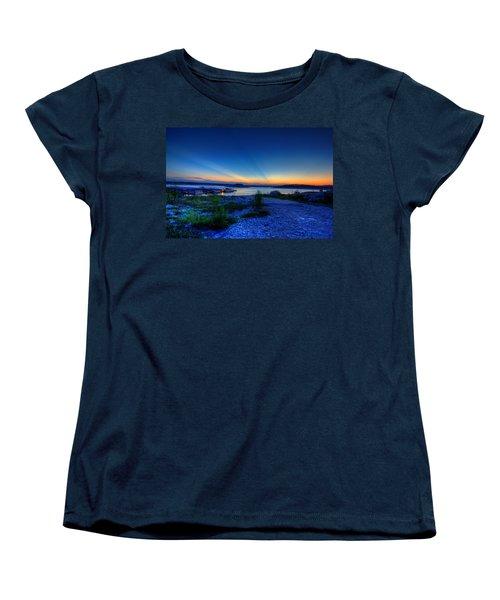Days End Women's T-Shirt (Standard Cut) by Dave Files