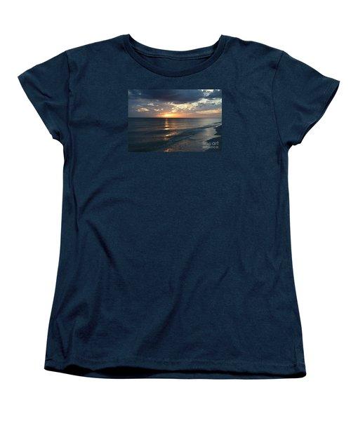 Days End Over Sanibel Island Women's T-Shirt (Standard Cut) by Christiane Schulze Art And Photography