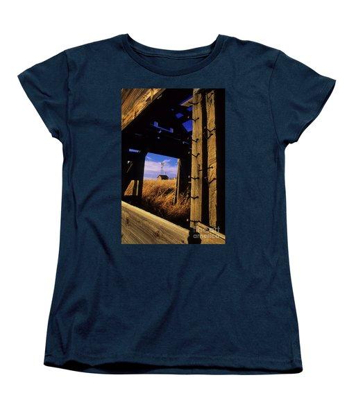 Days Gone By Women's T-Shirt (Standard Cut) by Bob Christopher