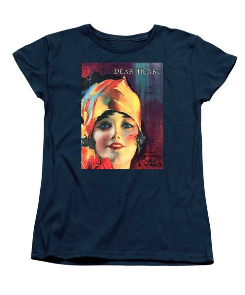Dear Heart Women's T-Shirt (Standard Cut) by Steve Archbold