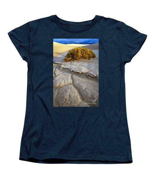 Death Valley Mudflat Women's T-Shirt (Standard Cut)