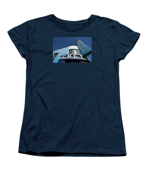 Deco Dog Women's T-Shirt (Standard Cut) by Lawrence Boothby