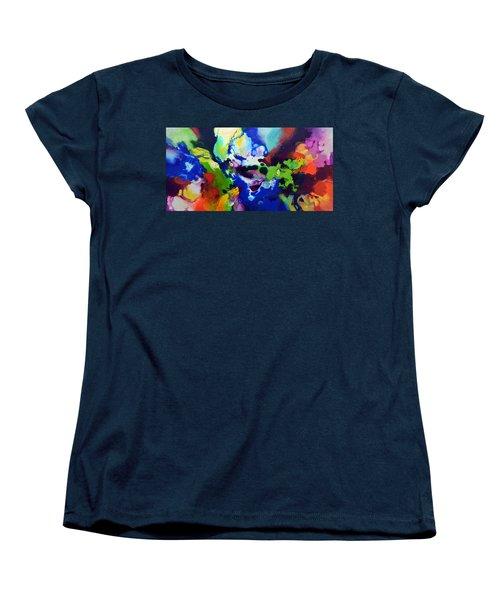 Decorum Women's T-Shirt (Standard Cut) by Sally Trace