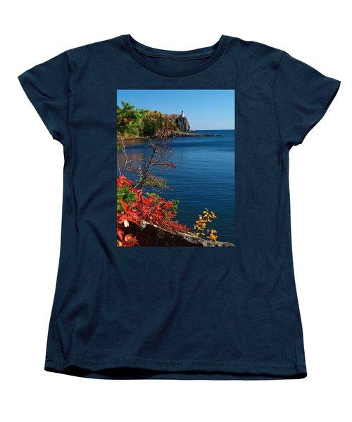 Deep Blue Superior Women's T-Shirt (Standard Cut) by James Peterson