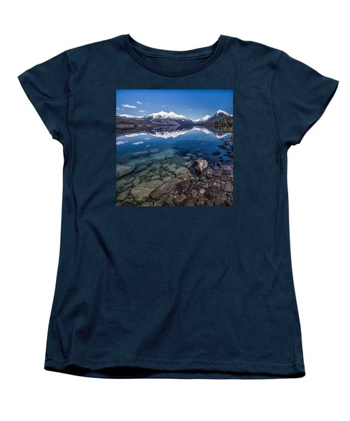 Deep Freeze Women's T-Shirt (Standard Cut) by Aaron Aldrich