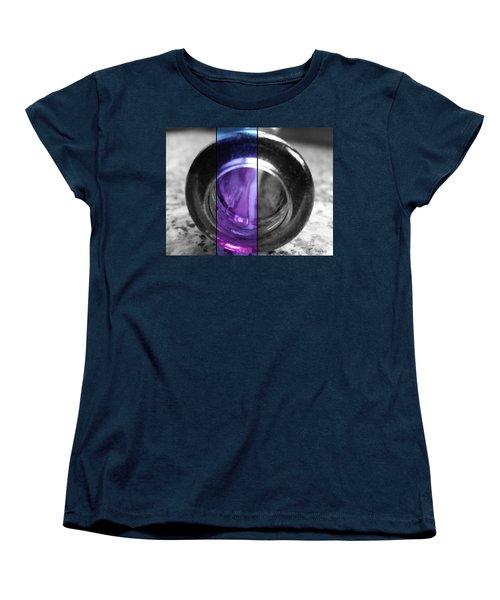Women's T-Shirt (Standard Cut) featuring the photograph Deep Thoughts Part Three by Sir Josef - Social Critic - ART