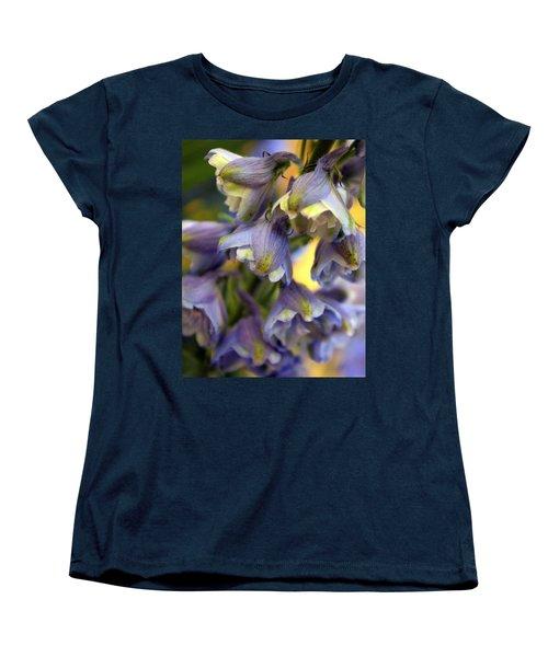 Delphinium Blue Women's T-Shirt (Standard Cut) by Joseph Skompski