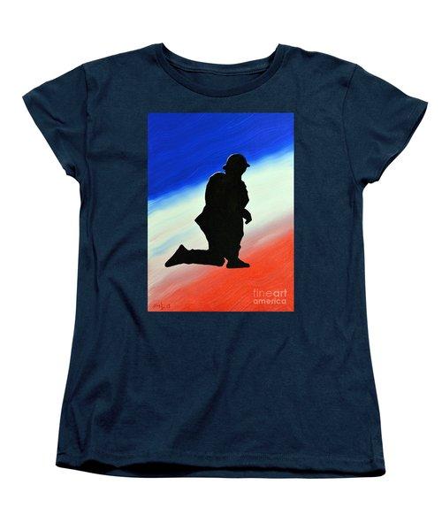 Desert Duty II Women's T-Shirt (Standard Cut) by Alys Caviness-Gober